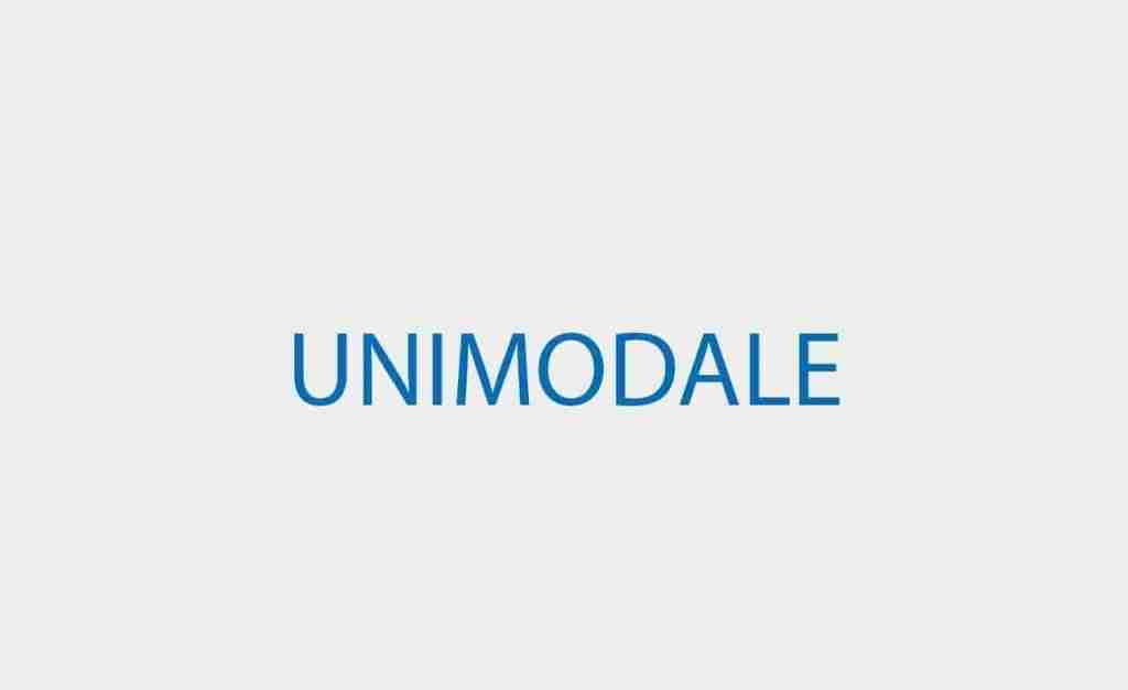 UNIMODALE