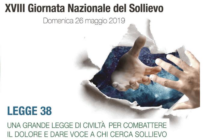 XVIII Giornata Nazionale del Sollievo: 26 maggio